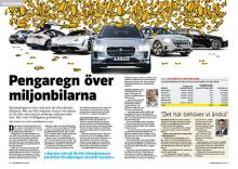 Granskning: Pengaregn över miljonbilar.