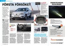 Provkörd: Volvos första elbil.