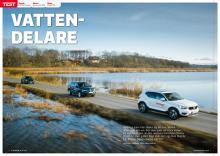 Test: Volvo XC40, Mazda CX-30, Skoda Karoq.