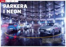 Test av småbilarna Ford Fiesta, Hyundai i20 och Kia Rio.