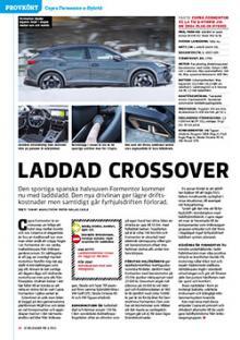 Provkörd: Cupra Formentor e-Hybrid.