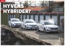 Test av laddhybrider från Kia, Renault och Skoda.
