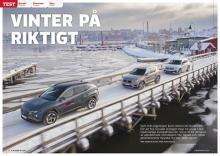 Test: Hyundai Tucson möter Volvo XC40 och VW Tiguan.