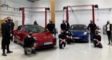 """Tesla öppnar ny anläggning i Umeå –utökar """"mobil service"""""""