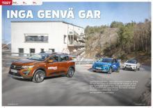 Test: Dacia Sandero Stepway mot Kia Stonic och Seat Arona.