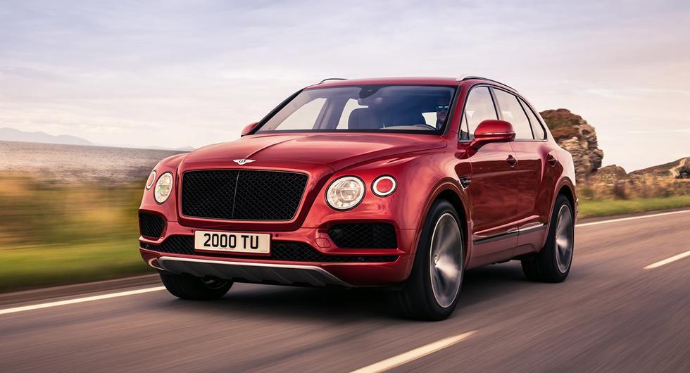 Bentley återkallar en tredjedel av alla Bentayga