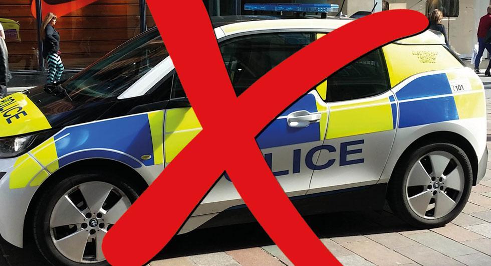 Elbilar inget för svenska polisen
