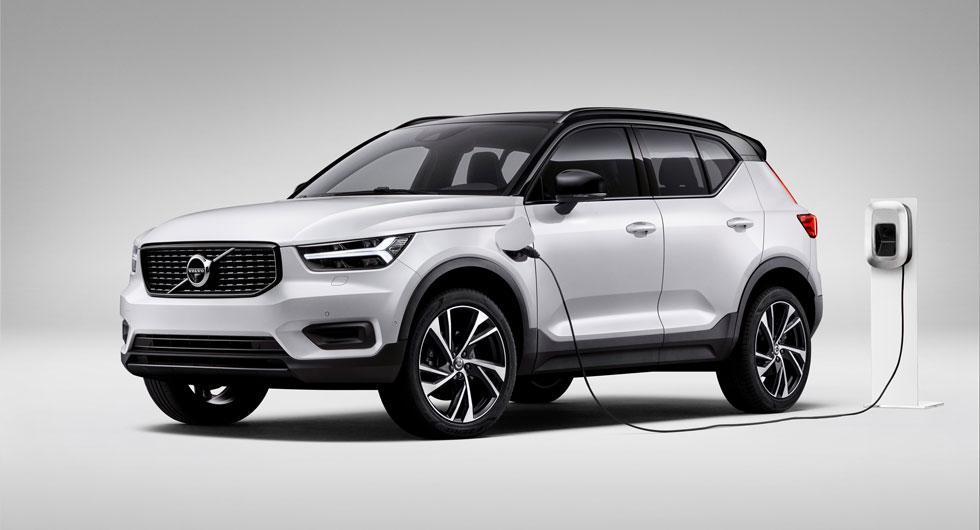 Starkt halvår för Volvos laddhybrider