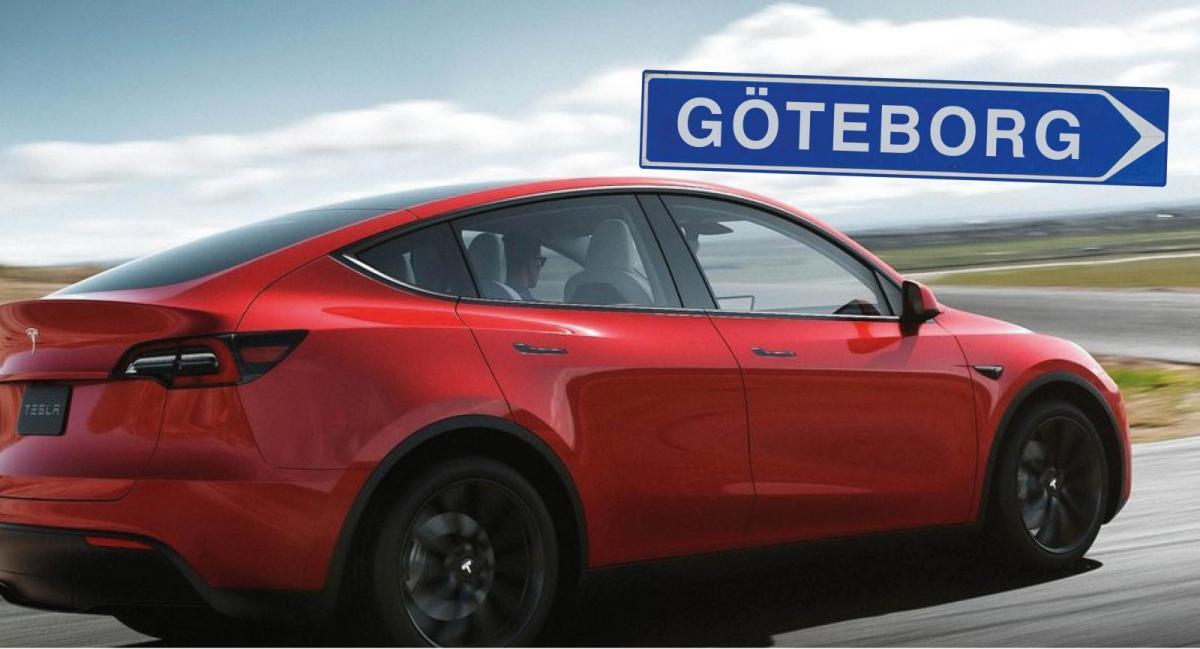 Sveriges första Tesla Model Y redan levererad – till Volvo