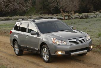Bildspel: Nya Subaru Outback - för den som vill sticka ut