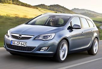 Bildspel: Opel Astra Sports Tourer - kombin är här