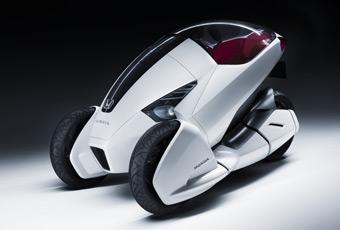 Bildspel: Honda 3R-C - ny trehjuling
