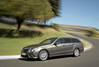 Bildspel: Nya Mercedes E-klass - Marknadens största kombi