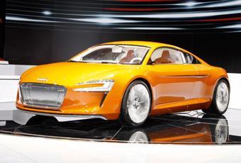 Bildspel: Audi e-tron levereras 2012