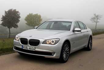 Bildspel: BMW 730d - tar viktiga imagepoäng