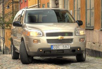 Bildspel: Chevrolet Uplander - mindre miljöskadlig än många tror
