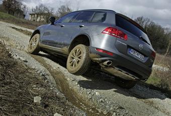 Bildspel: Volkswagen Touareg - jätte som klättrar