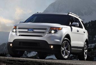 Bildspel: Här är nya Ford Explorer