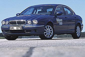 Bildspel: Jaguar X-Type V6 2,5 - 2002