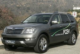 Bildspel: Kia Borrego FCEV - vätgasbilen tar stora steg framåt