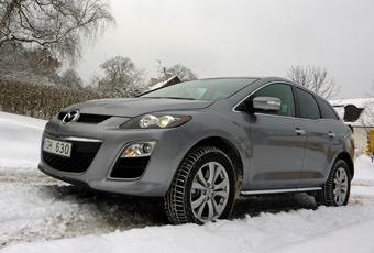Bildspel: Mazda CX-7 2,2 DE Advance - ren diesel och bra pris