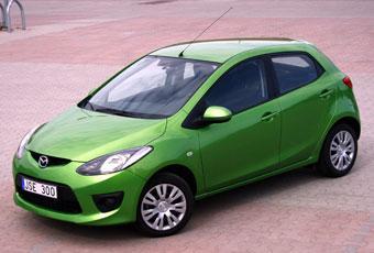 Bildspel: Mazda2 - ekonomi eller miljöhänsyn
