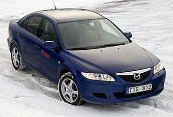 Bildspel: Mazda6 1,8 sedan - 2002