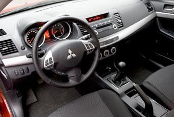 Bildspel: Mitsubishi Lancer Sportback - design går ut över funktion