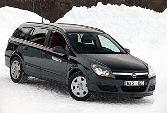 Bildspel: Opel Astra Kombi 2,0 turbo