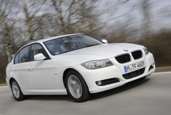 Bildspel: BMW 320d Efficient Dynamics Edition - leder prestigekampen