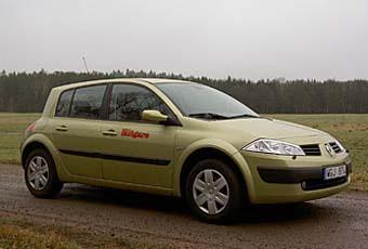 Bildspel: Renault Mégane1,6 16V