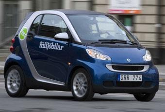 Bildspel: 9: Smart Fortwo - en dyr stadsbil