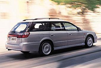 Bildspel: Subaru Legacy Arctica Kombi  - 2000