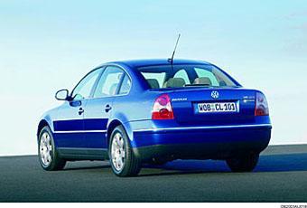 Bildspel: VW Passat Turbo Comfortline - 2001