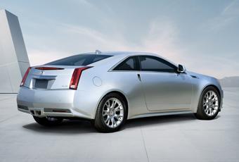 Bildspel: Ny coupé från Cadillac