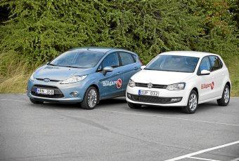 Bildspel: Volkswagen Polo mot Ford Fiesta