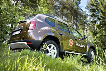 Bildspel: Dacia Duster - lågprisbilen överraskar