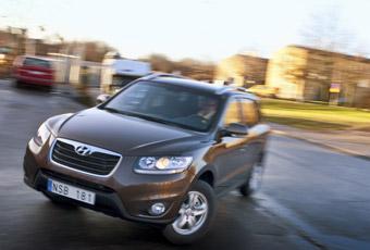 Bildspel: Provkörning: Hyundai Santa Fe