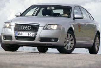 Bildspel: AUDI A6 - en tystlåten tysk