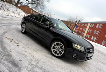 Bildspel: Audi A5 Sportback - halvkombi för bilnjutare