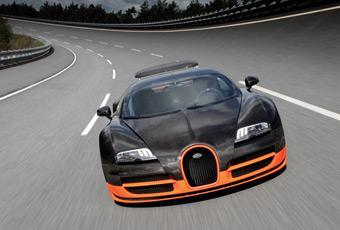 Bildspel: Bugatti Veyron Super Sport slår fartrekord