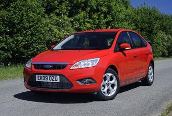 Ford Focus är den enda modellen som finns med bland de 20 mest sålda bilarna under 2009 i båda Sverige och USA.