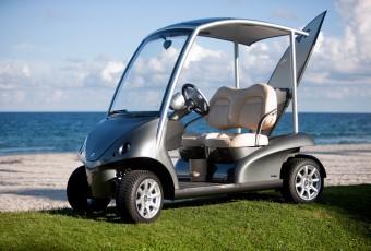 """Bildspel: """"Världens lyxigaste golfbil"""""""