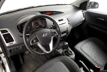 Hyundai i20 interiör.