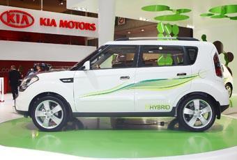 Kia Soul Hybrid, en bil som inte längre kan få miljöbilspremie.