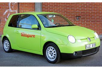 Volkswagen Lupo är en liten och bensinsnål bil som tyvärr är rätt ovanlig i Sverige.