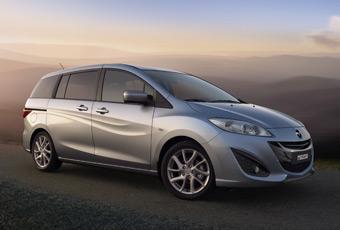 Bildspel: Premiär för nya Mazda5