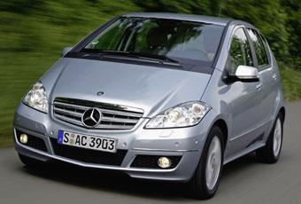 Bildspel: Mercedes A-klass - start/stopp och väl tilltagen prislapp