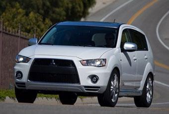 Bildspel: Officiell: Mitsubishi Outlander GT Prototype