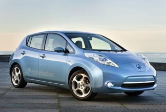 Bildspel: Tre år till Nissan Leaf